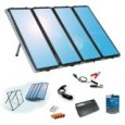 Amorphous solar charging kit provides up to 60 watts of clean, free, renewable power Designed for RVs, cabins, homes, boats, back-up and remote power use Weatherproof, durable solar panels can […]
